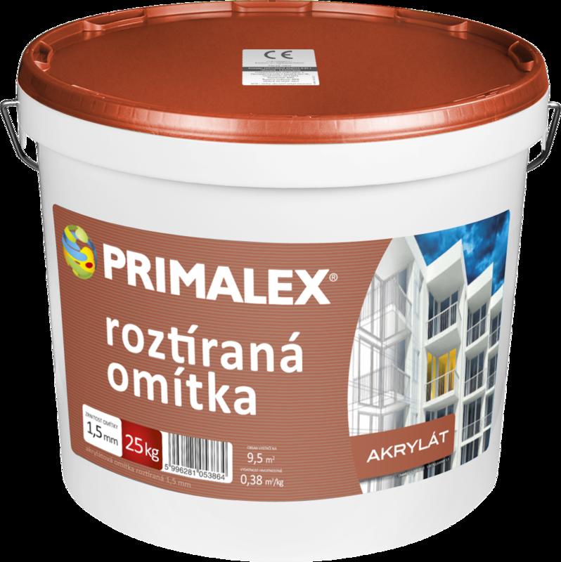 Primalex Akrylátová omítka roztíraná