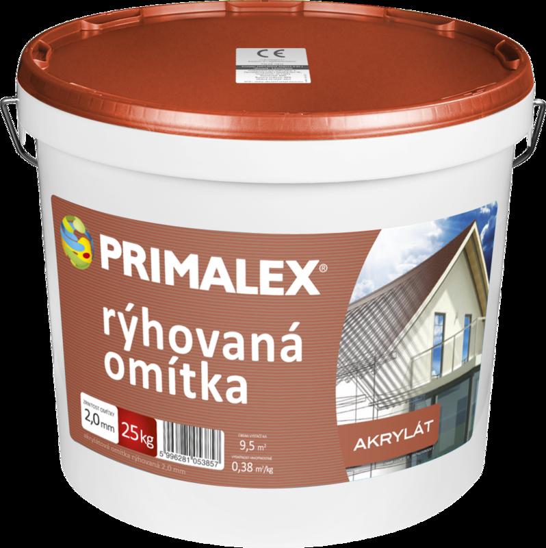 Primalex Akrylátová omietka ryhovaná