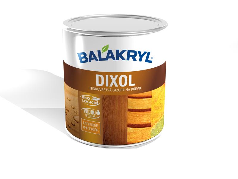 Balakryl Dixol - tenkovrstvá lazúra