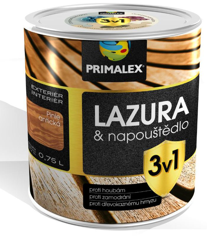 Primalex Lazura & napouštědlo 3v1