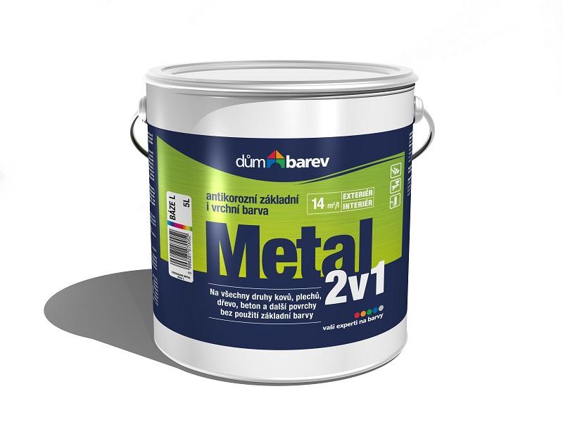 Dům barev Metal 2v1 báze