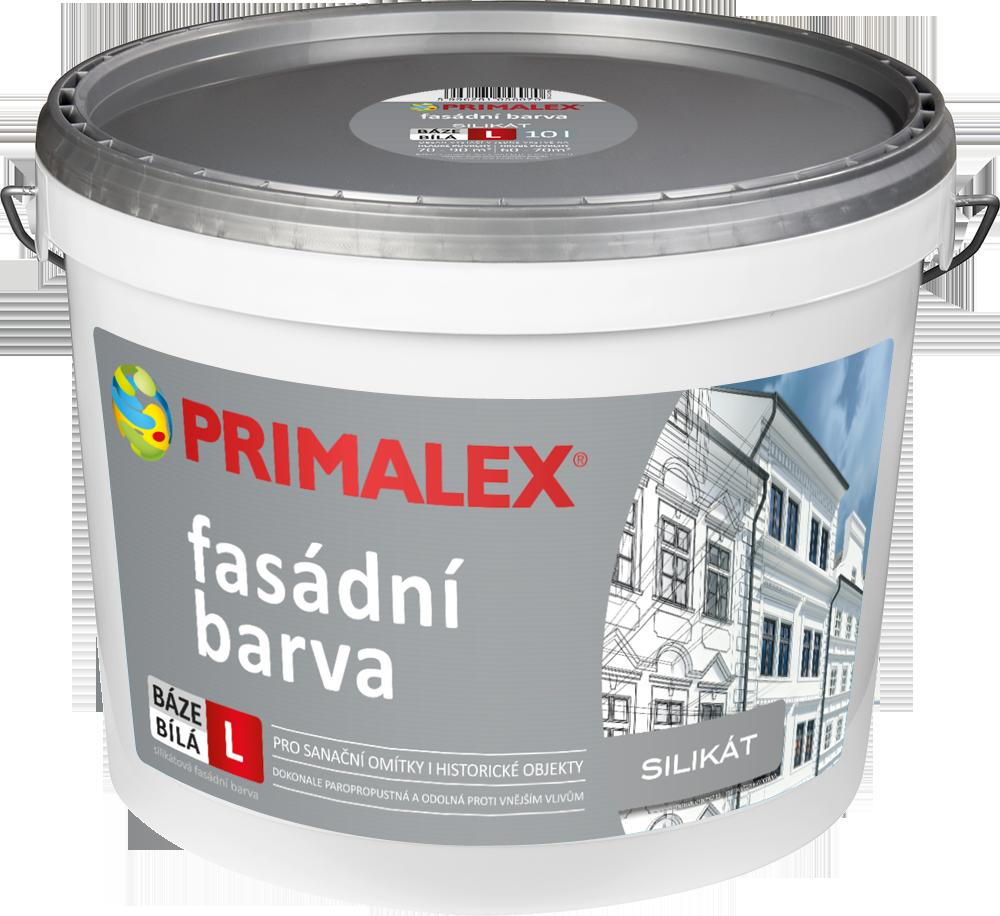 5ceb8398b Primalex Silikátová fasádna farba | PRIMALEX
