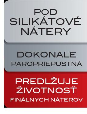SILIKÁTOVÁ penetrácia