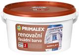 renovační fasádní barva AKRYLÁT
