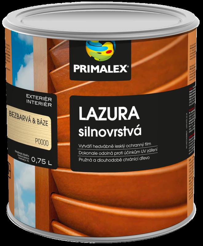 Primalex Lazúra hrubovrstvá