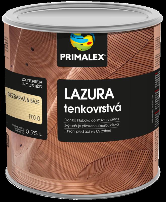 Primalex Lazúra tenkovrstvá
