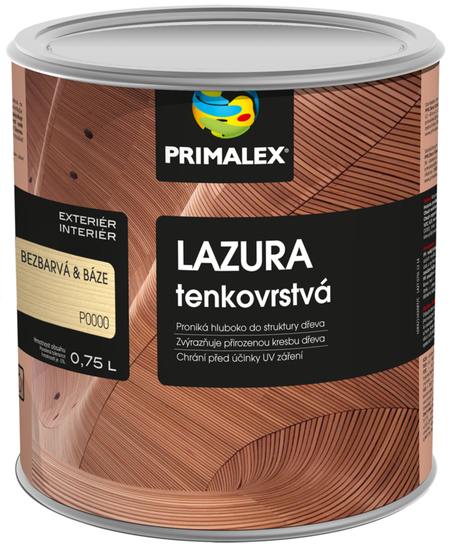 Primalex Lazura tenkovrstvá