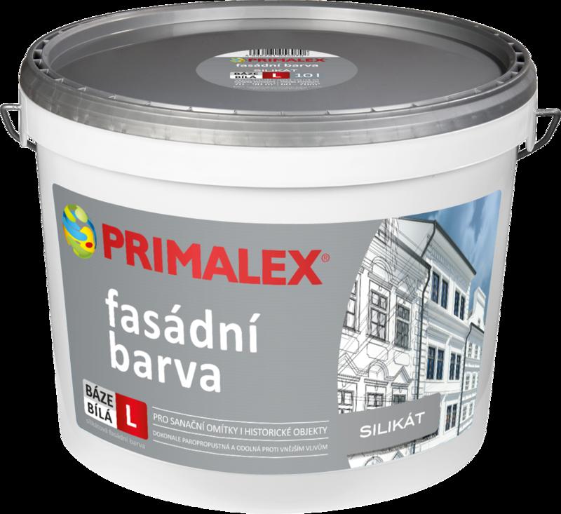 Primalex Silikátová fasádna farba