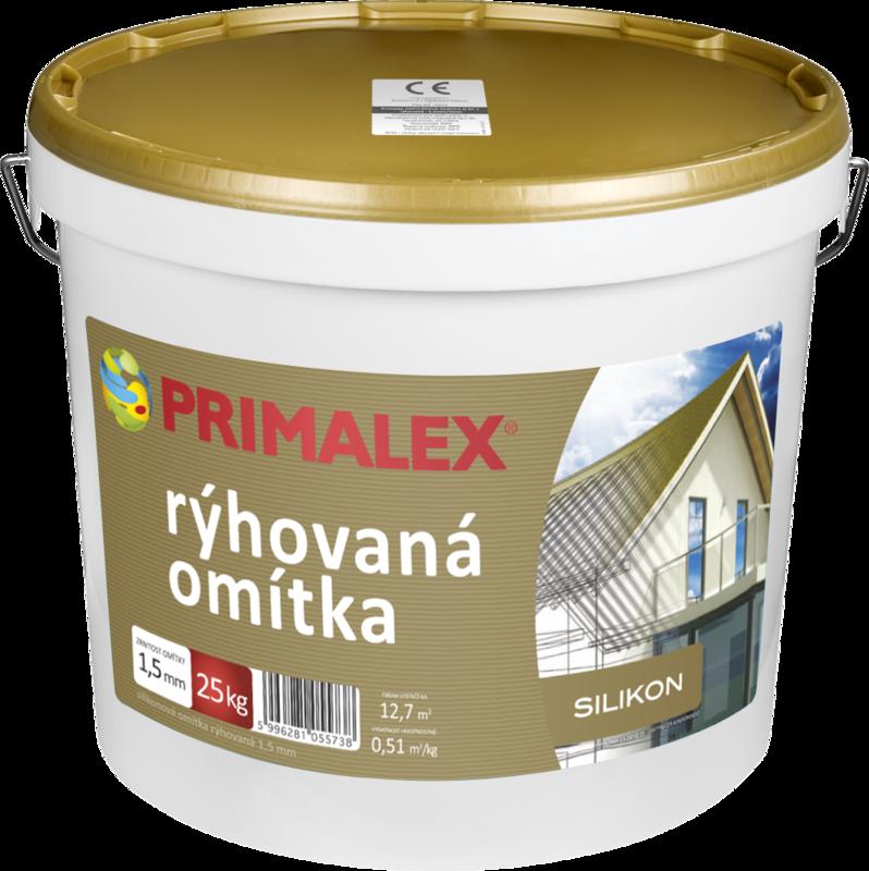 Primalex Silikónová omietka ryhovaná