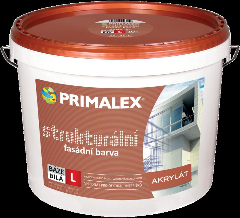 Primalex  Štrukturálna fasádna farba