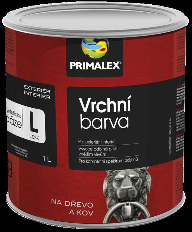 Primalex Vrchní barva Lesk/Pololesk báze