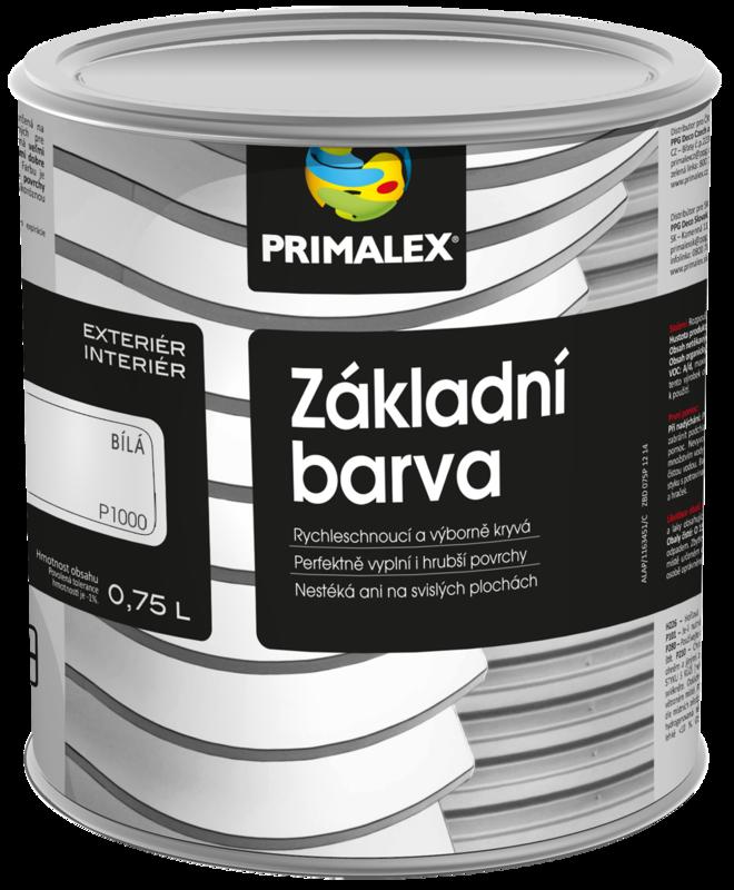 Primalex Základní barva na kov a dřevo