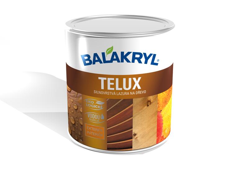 Balakryl Telux - silnovrstvá lazura
